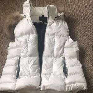 White Marc Jacobs puffer jacket